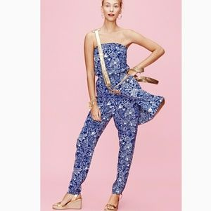 Lilly Pulitzer Sleeveless Jumpsuit in Upstream